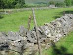 Peak District dry stone wall