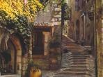 Take the bus to beautiful St. Paul de Vence