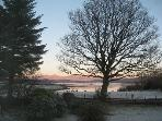Winter views from the cottage