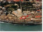 The exact and precise Location In Old Jaffa (in Red)