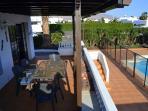 Villa Stephanie terrace