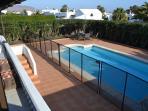 Pool area (pool is 8 x 4 metres)