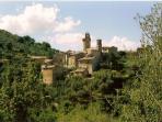 The nearest medieval village: Castiglion Fosco