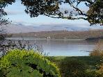 View from master bedroom window across Loch Creran