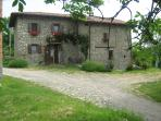 you will be housed in a typical stone farmhouse completely restored.