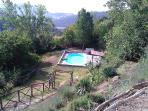 Pool in the countryside