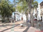 Town square, Nerja