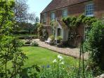 Hucklesbrook Farmhouse, you will find our 3 Holiday Cottages behind within a large courtyard