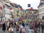 Festa Medioevale a Pescia, PT   Toscana