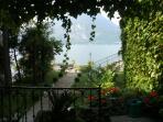 The vista that welcomes you from 'la casa piu' bella di varenna'