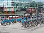 Dublin Bikes.