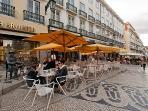 Coffee Shop 'A Brazileira' at the top of Rua Garrett
