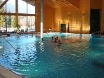 All year indoor/outdoor pool