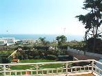 Wonderful panoramic Sea Views from Bedroom Veranda