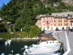 The romantic old port of Toscolano (1400 p.C.n)