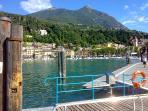 Toscolano-Maderno Sailing boats golf on Garda's lake