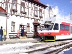 The tram stops at all villages in the High Tatras