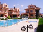 Villa Laurenta with large shared pool.