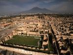 The famous Pompei not far away ( less than 60 min by public transport)