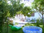 Our Garden, 1000 sq. meters for you and your children! - Skafonas Apartments, Pelekas | Corfu &
