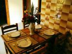 Dinning Table - Skafonas Apartments, Pelekas | Corfu | Greece