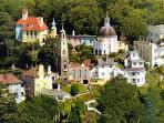 Portmeirion - also less than an hour away