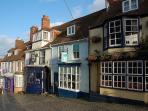 Quay Hill, Lymington just a stone's throw from Skylarks