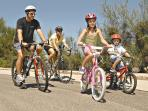 Excellent cycle paths close by for the whole family to enjoy