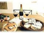 Wine and Cheeses... Enjoy Paris!!