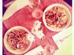 'Italian Spaghetti'per due sul balconcino