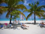 palm fringed white powder sands of south beach