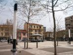 The new town square