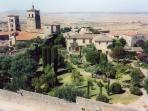 Trujillo (30 min drive) is a wonderful hilltop town with 16th century mansions and palacess