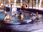 L'espace aqualudique de la Bourboule