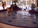 L'espace aqualudique de la Bourboule (les espaces enfant)