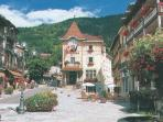 Quaint centre of Saint-Gervais-les-Bains