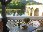 Enjoy views and an aperitif in our Terrace Bar