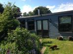 Outside of summer/garden house