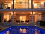 Kalkan Mountain Villa transformed by elegant lighting