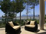 Large balcony to relax and enjoy the views