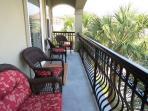Balcony off 3rd Bedroom