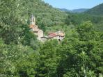 Nearby hamlet of Alebbio