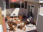 Dine Al-fresco on the sunny terrace