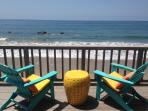 Malibu Oceanfront 3bd/2ba on the SAND!