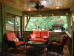 Brag about your catch or just stay in touch with friends while lounging in one of our decks!
