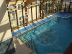 Included in the price - access to nearby indoor pool with Spa, Sauna, Gym also tennis courts