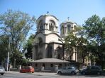 Alexander Nevski church, 3 minutes walk.