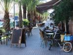 La Marina Village: a very popular place to relax and unwind.