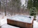 Private Hot Tub off the Lower Patio