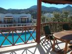 Poolside Balcony & Dining area
